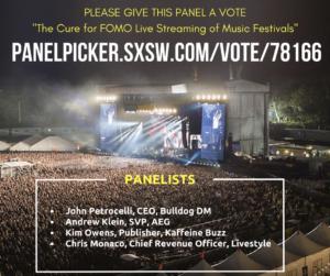 SXSW 2018 panel flyer